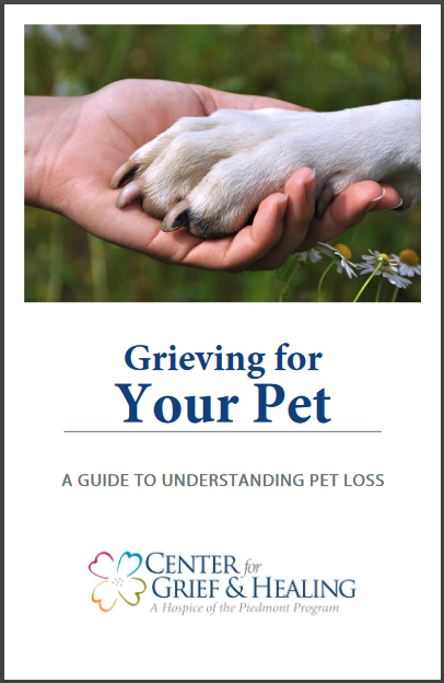 Grieving Your Pet Pamphlet