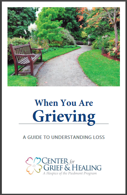 When You Are Grieving Pamphlet